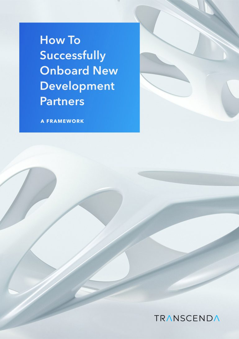 How to successfully onboard new development partners